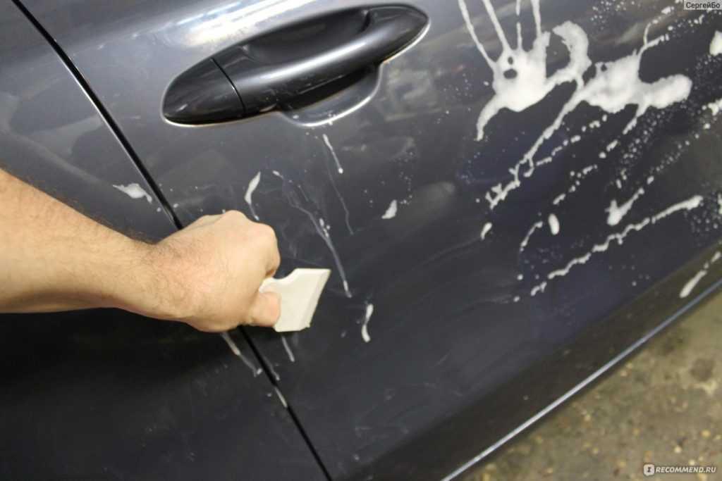 Как закрасить царапину на машине своими руками?