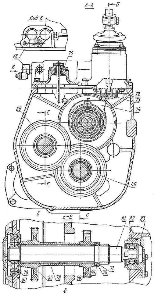 Первое техническое обслуживание (то-1) трактора дт-75.