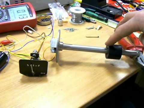 Как отремонтировать датчик уровня топлива в машине
