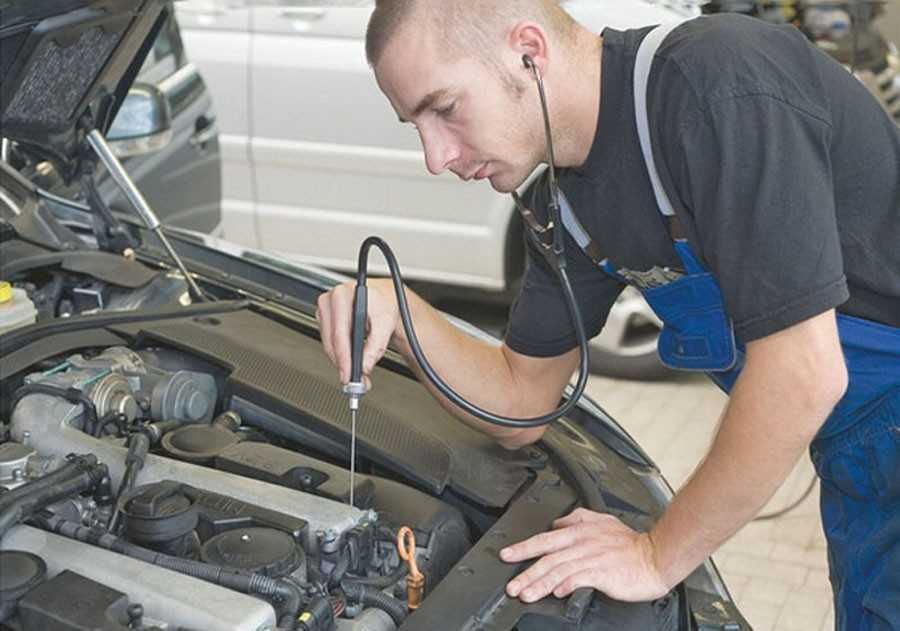 Диагностика двигателя автомобиля, приборы, последовательность работ