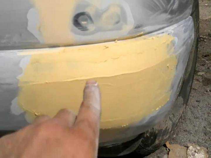 Ремонт бампера автомобиля своими руками: фото, видео