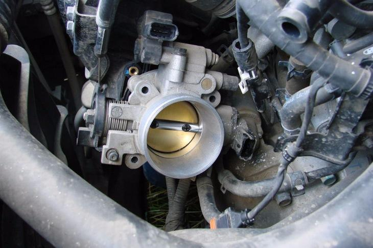 Машина глохнет при нажатии на газ