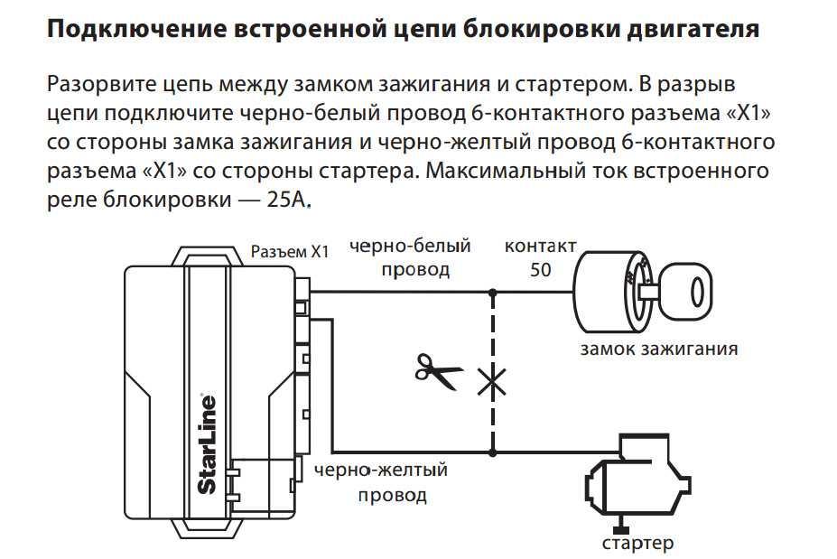 Схема подключения реле стартера - tokzamer.ru
