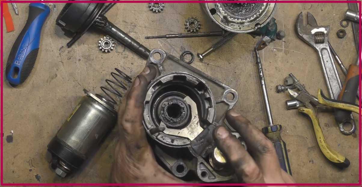 Как проводится ремонт стартера ваз-2107 своими руками