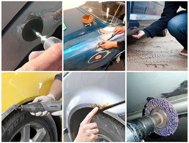 Самодельные приспособления для кузовного ремонта авто