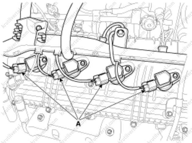 Kia cerato с 2004 года, проверка компрессии инструкция онлайн