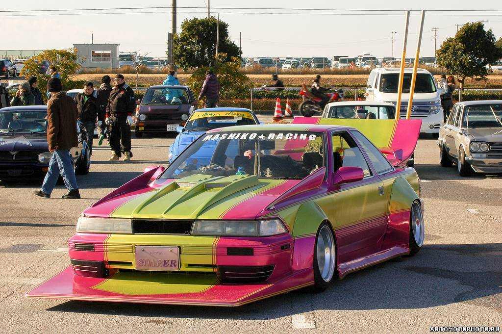 Японские топы на машине