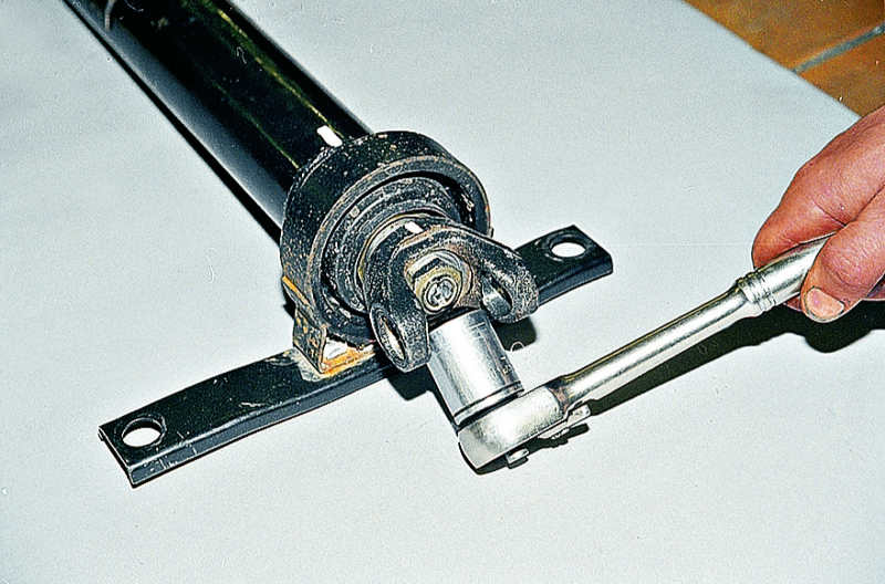 Технология ремонта карданного вала автомобиля