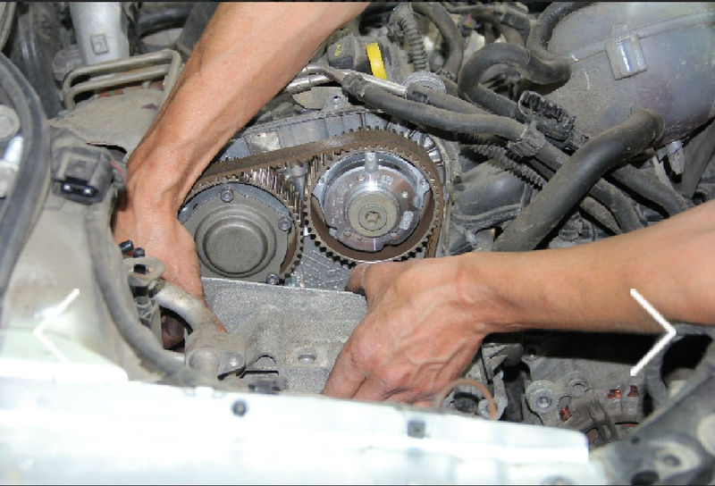 Неисправности грм двигателя автомобиля