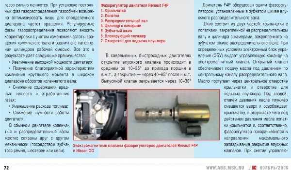Электромагнитный клапан фаз пежо — замена и особенности работы