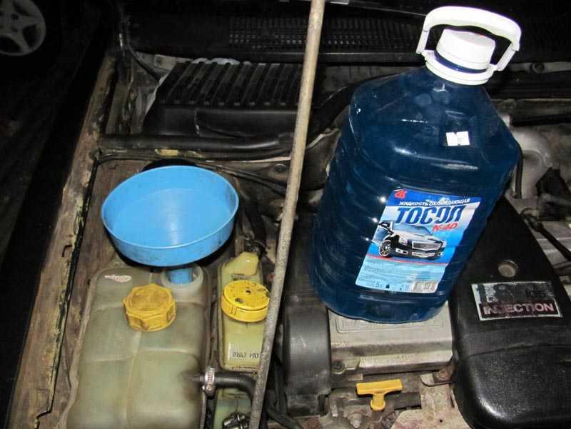 Как правильно заменить тосол в автомобиле