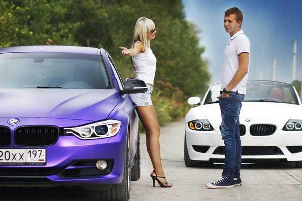 Автомобили, которые предпочитают девушки