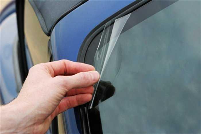 Заделать трещину на лобовом стекле - описание процесса ремонта