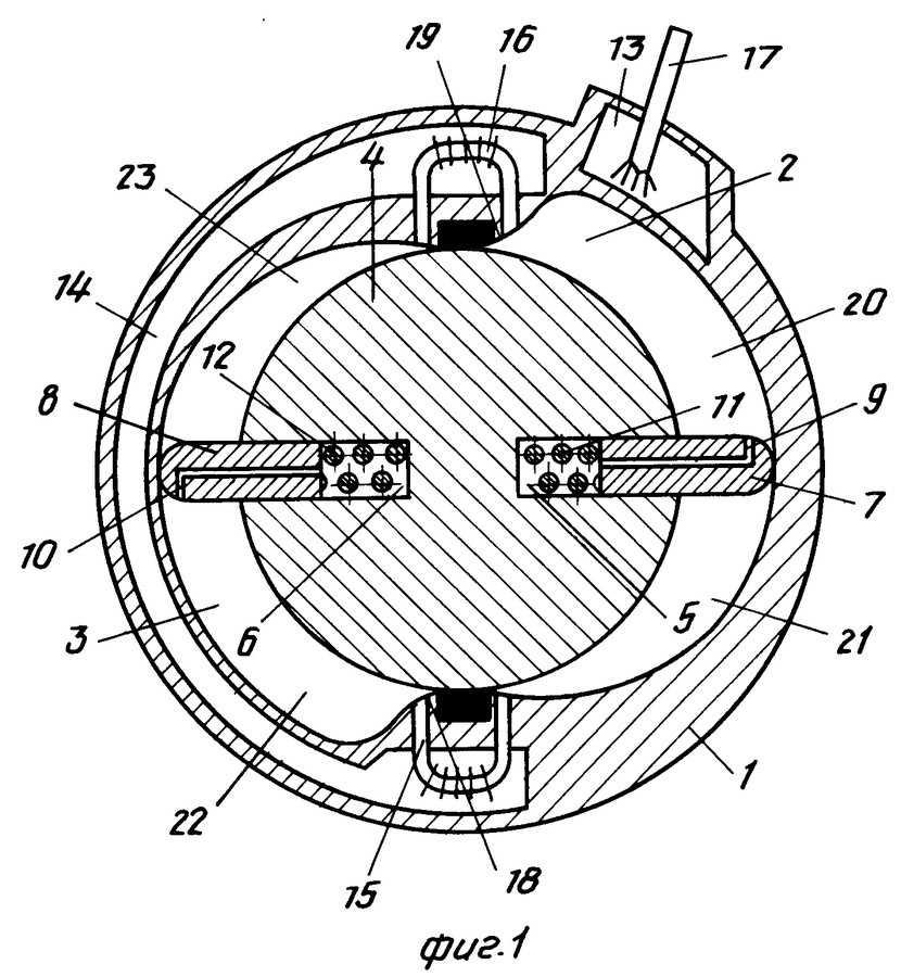 Схема роторно-лопастного ДВС  Схемы автомобильные Ремонт авто своими руками