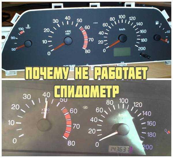 Почему спидометр показывает неправильную скорость