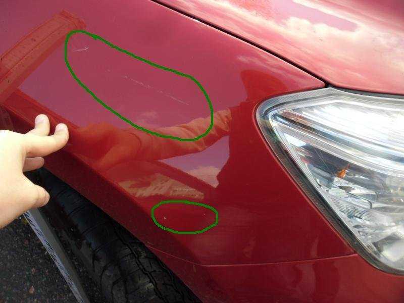 Как самостоятельно заполировать царапины на машине
