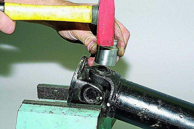 Как поменять крестовину на прадо 120 своими руками
