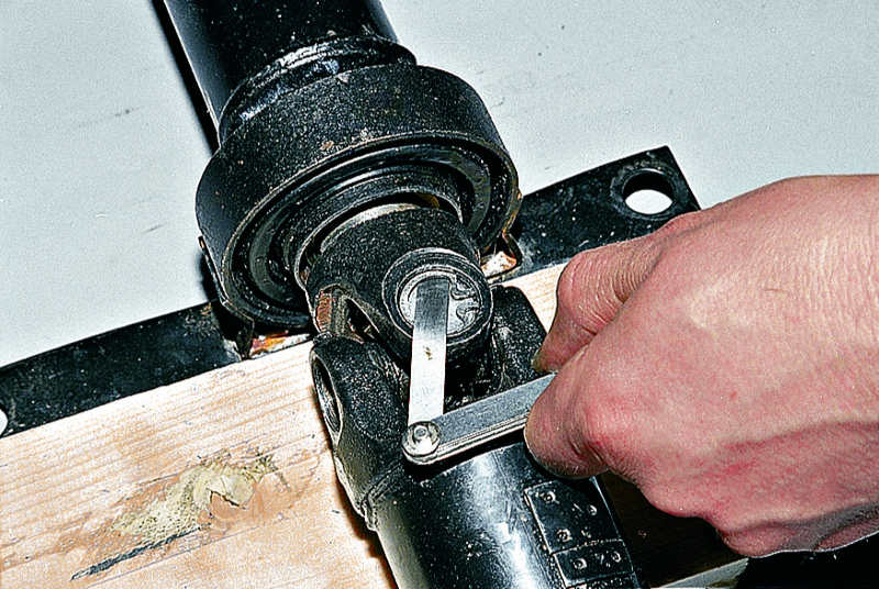 Техника безопасности при ремонте карданной передачи