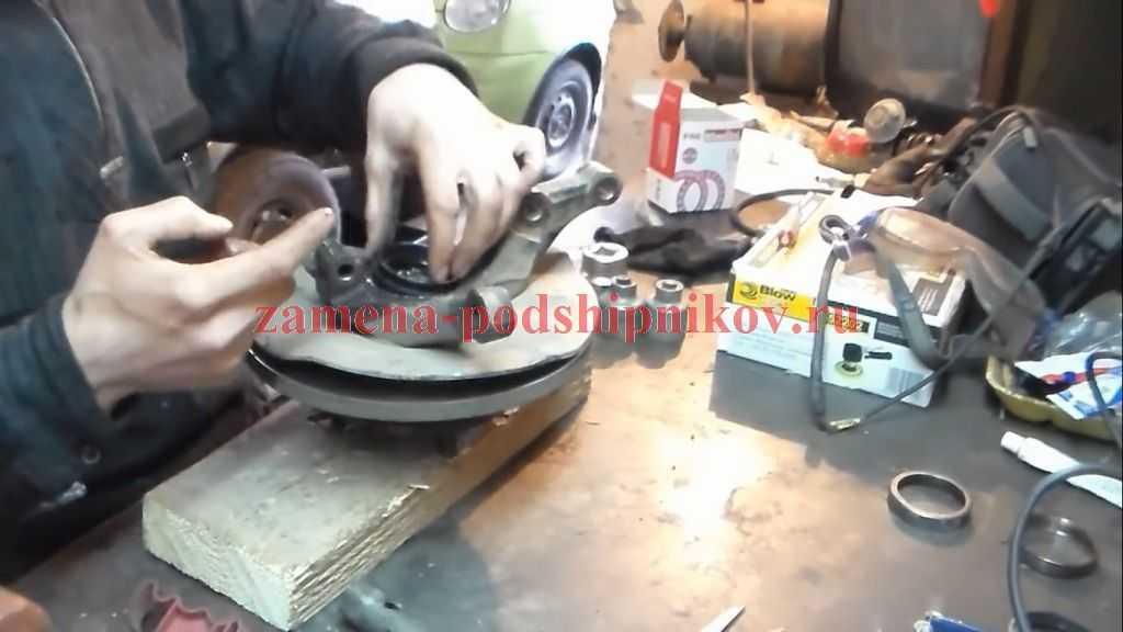 Как делается замена подшипника задней ступицы ваз 2109 своими руками с видео