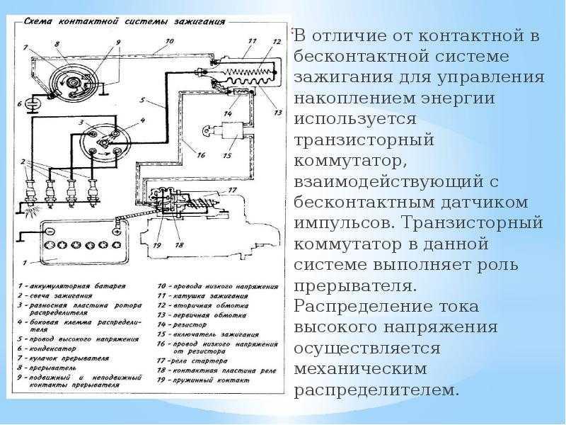 Неисправности бесконтактной системы зажигания ваз 2108, 2109