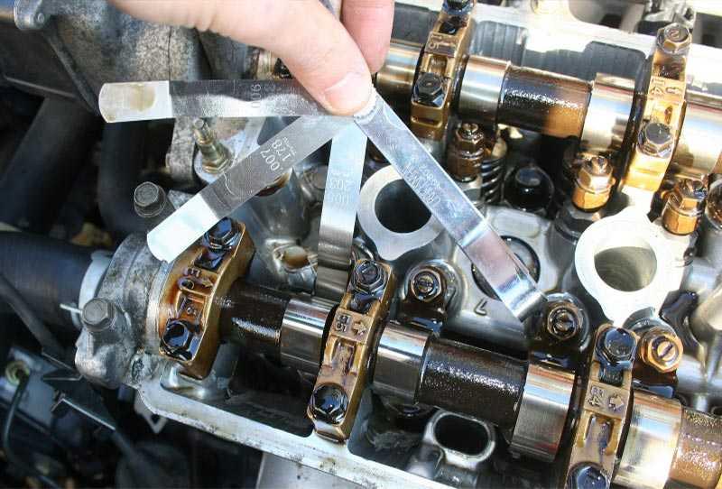 Какой зазор должен быть на клапанах на горячем двигателе