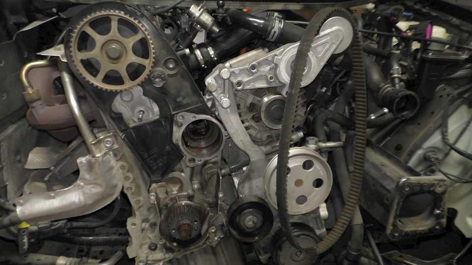 Особенности обслуживания, замены и ремонта ремня и генератора на audi a4