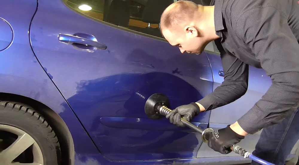 Вытягивание и ремонт вмятин на кузове авто своими руками - как выпрямить повреждение на машине | dorpex.ru