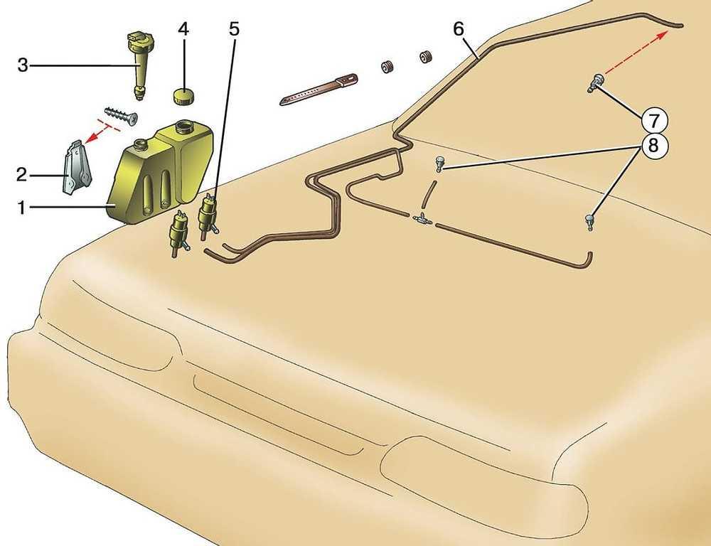 Форсунки омывателя лобового стекла: типы, выбор и замена
