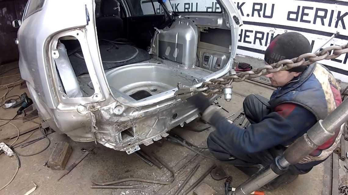 Как вытягивают кузов автомобилей: пошаговая инструкция