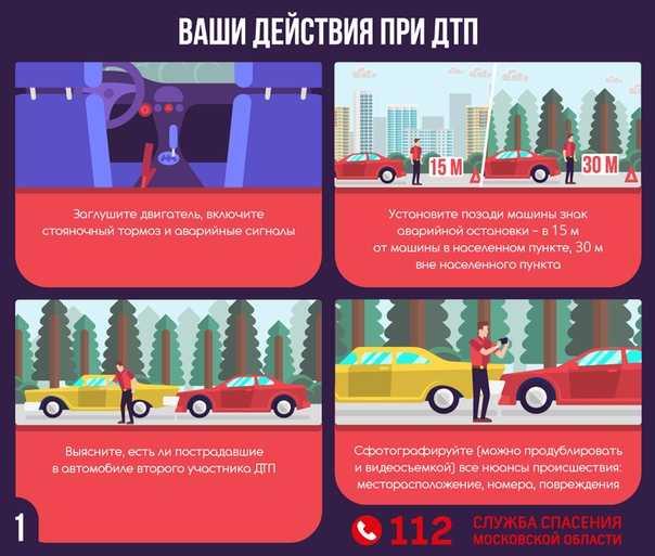 Порядок действий при поломке автомобиля на трассе