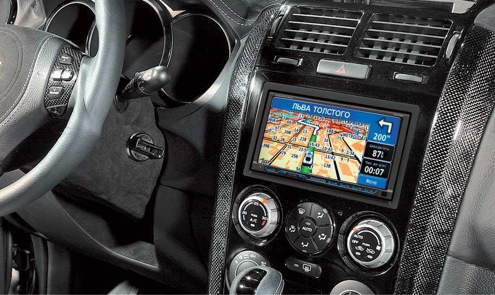 Навигационные автомобильные блоки: виды и характеристика