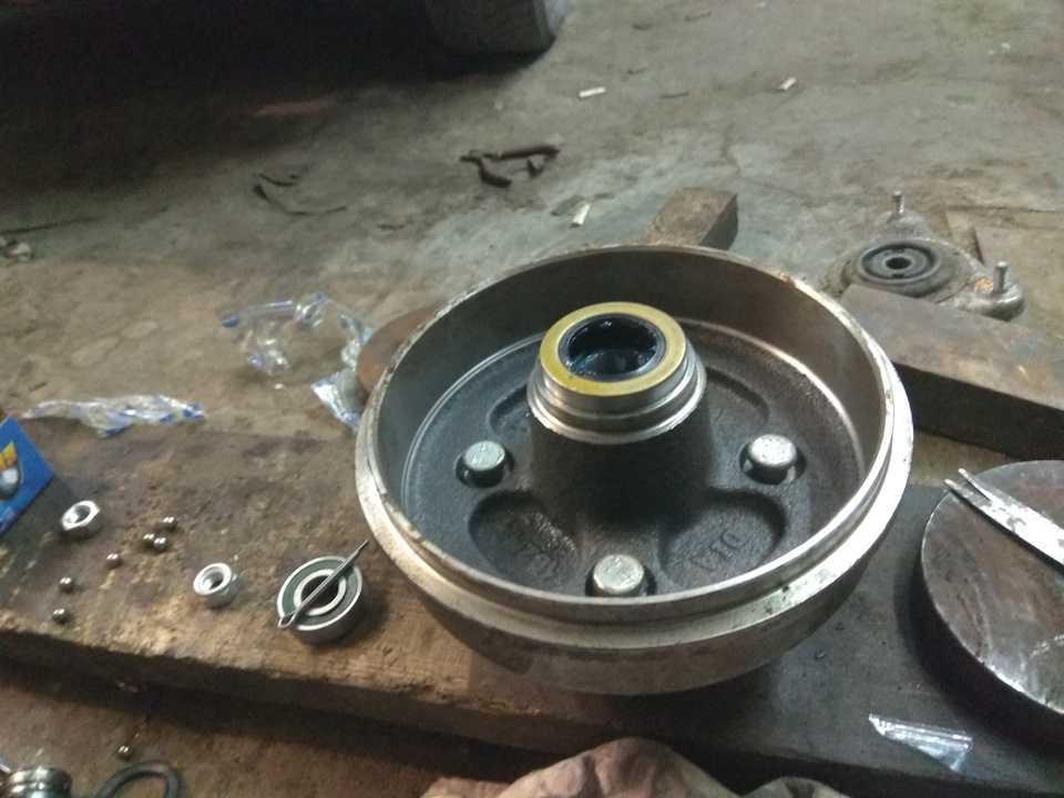 Как заменить ступичный подшипник на дэу нексия? - ремонт авто своими руками - тонкости и подводные камни