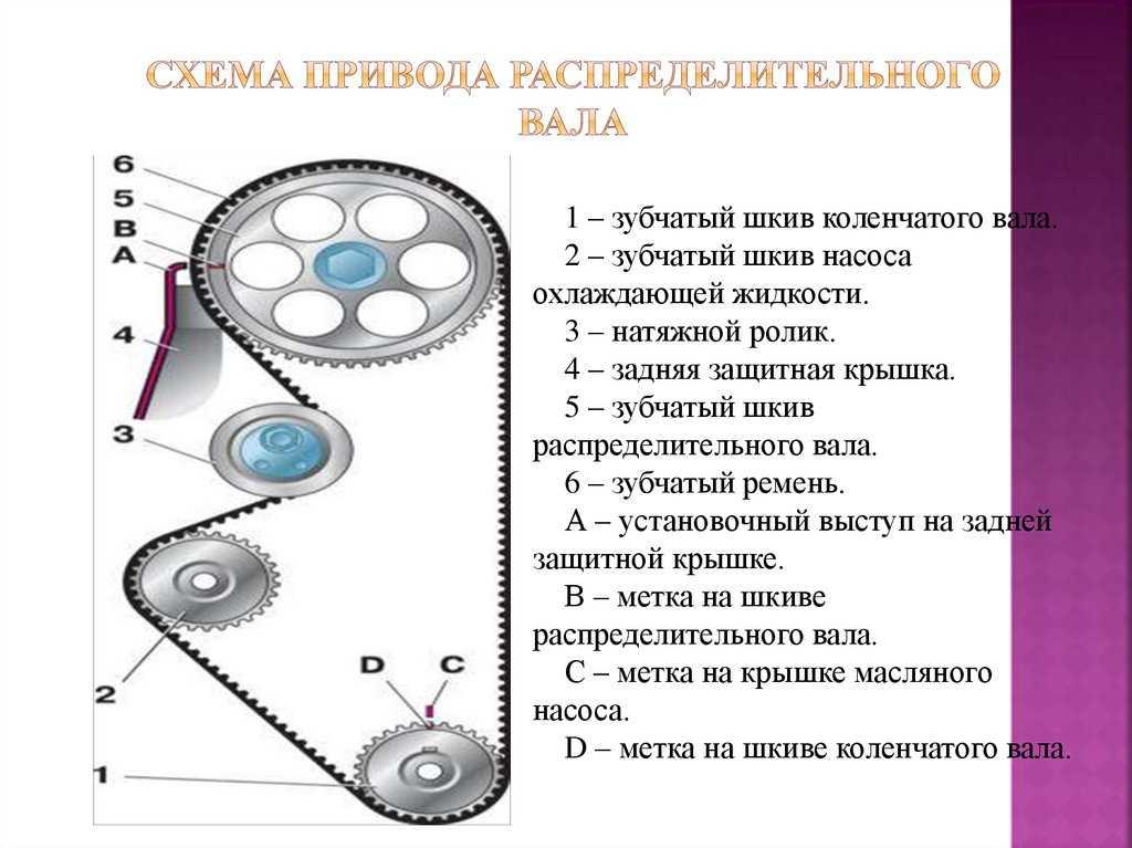 Грм - роль газораспределительного механизма в работе двигателя