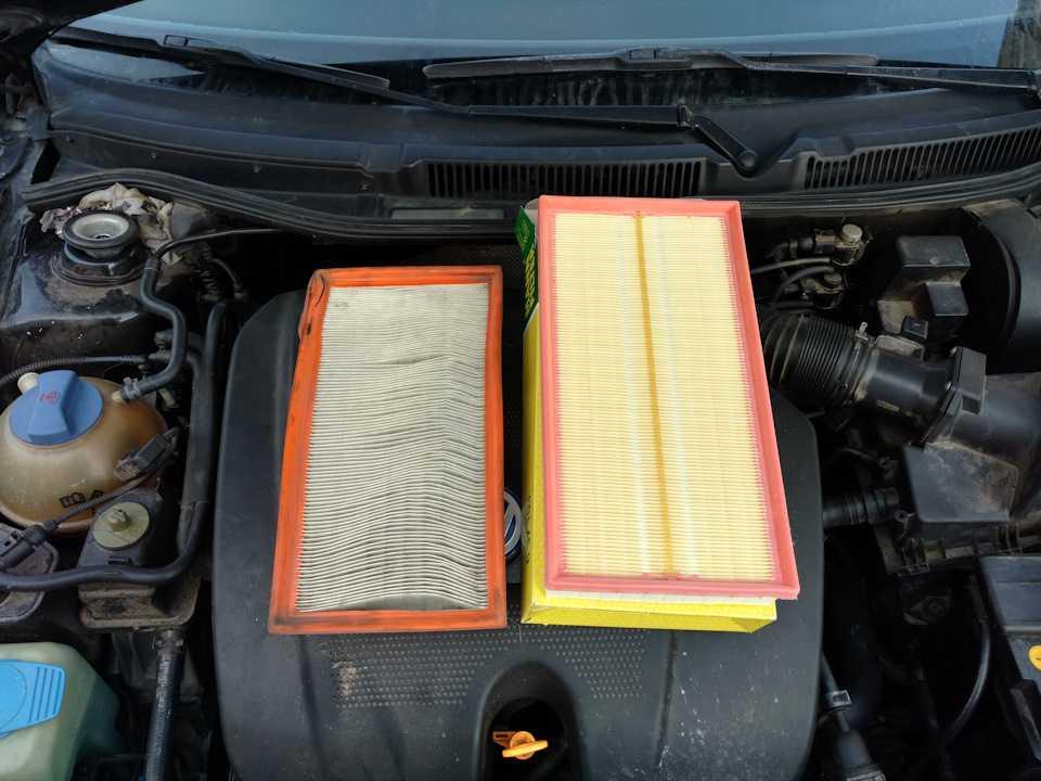 Когда менять воздушный фильтр в машине, процесс замены на примере