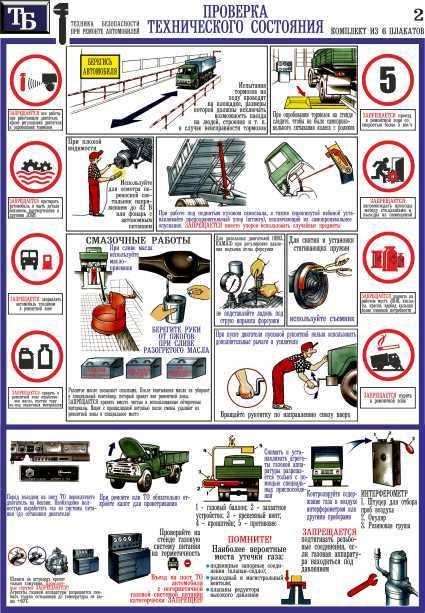 Правила техники безопасности на производстве