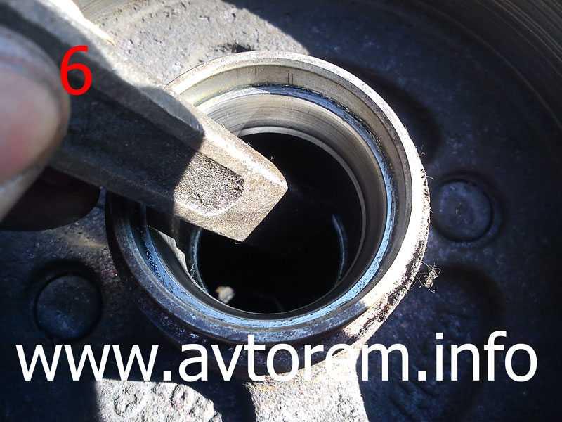 Замена подшипника  и шпилек передней ступицы daewoo matiz m150 в картинках