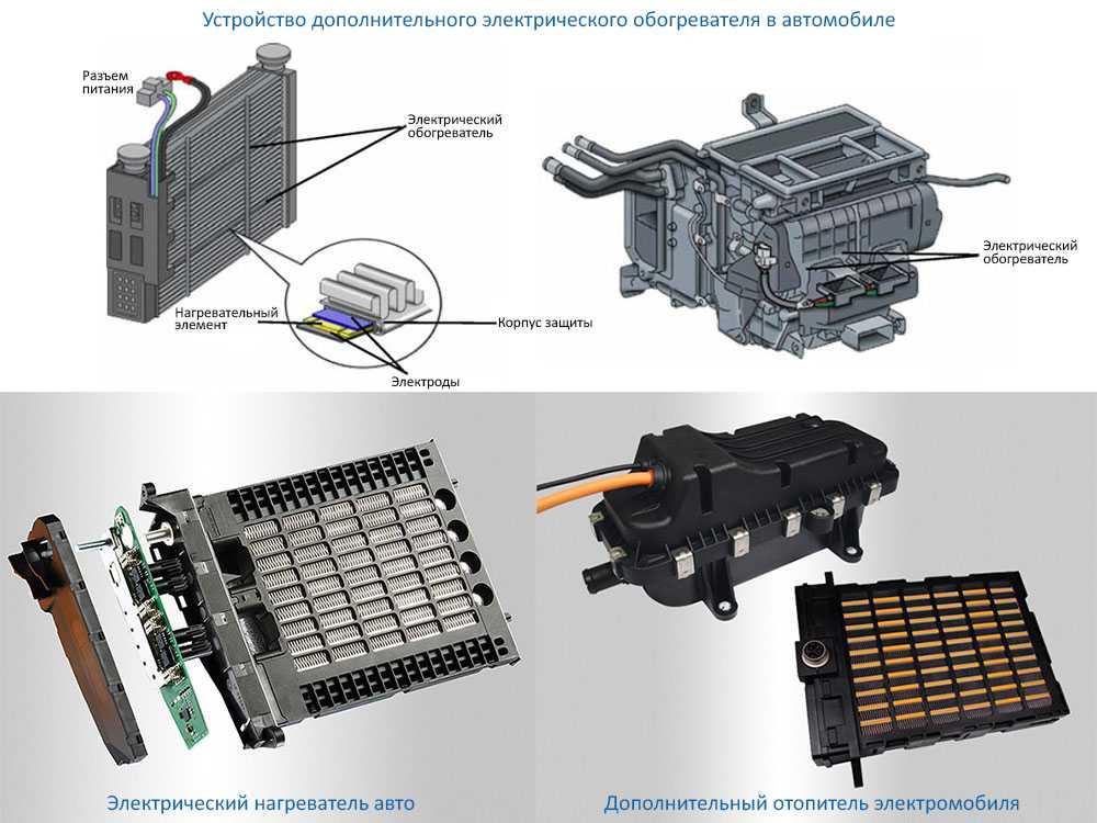 Принципиальные схемы систем охлаждения двигателя