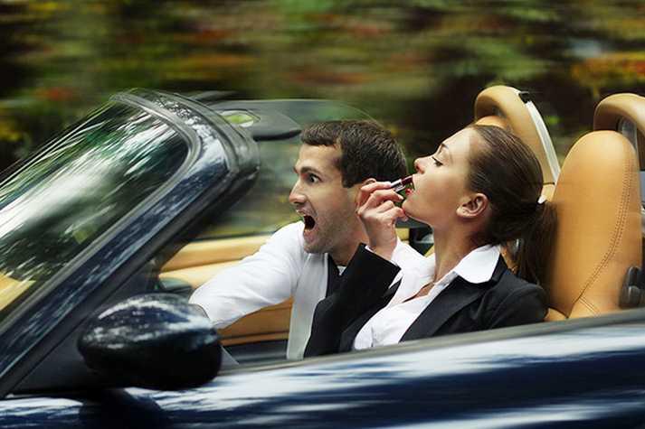 Женщина за рулем: мифы и реальность