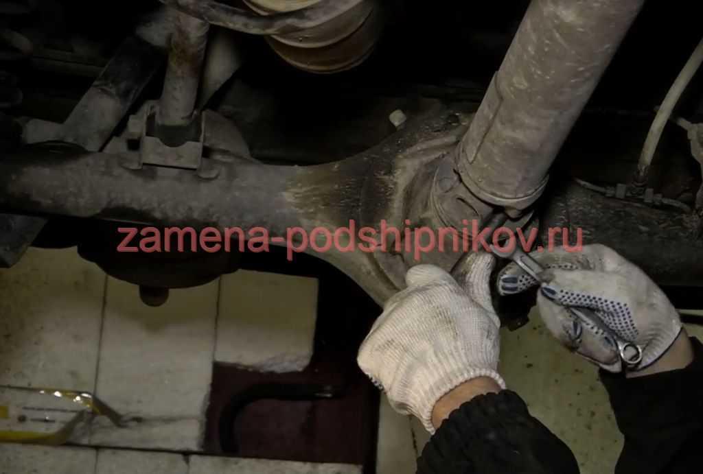 Карданная передача ваз 2107 – замена, устройство (фото и виде)
