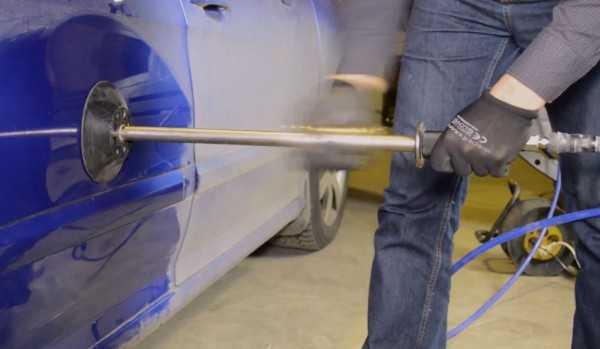 Как сделать кузовной ремонт автомобиля своими руками: рихтовка кузова