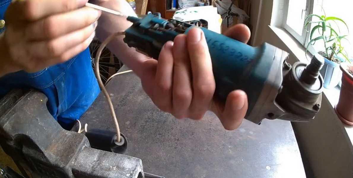 Ремонт болгарки своими руками: как разобрать ушм, проверить щетки, заменить статор и прочее + видео