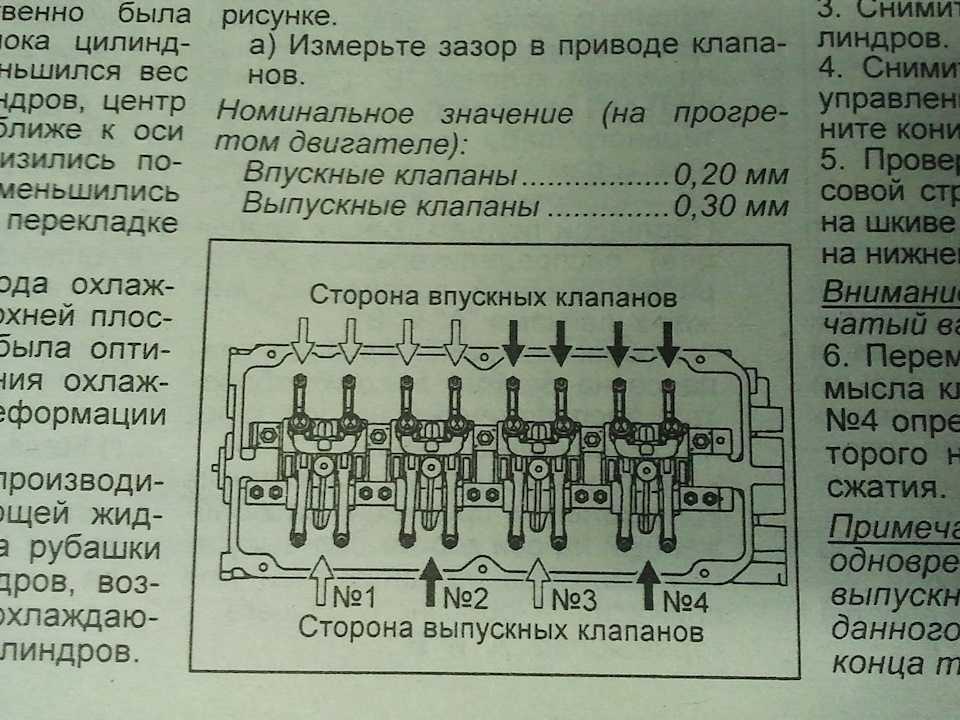 Регулировка клапанов ваз 2106, 2107 классика