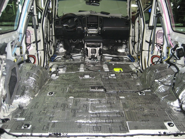 Шумоизоляция и виброизоляция автомобиля подготовка и анализ шумности   nopoint.ru