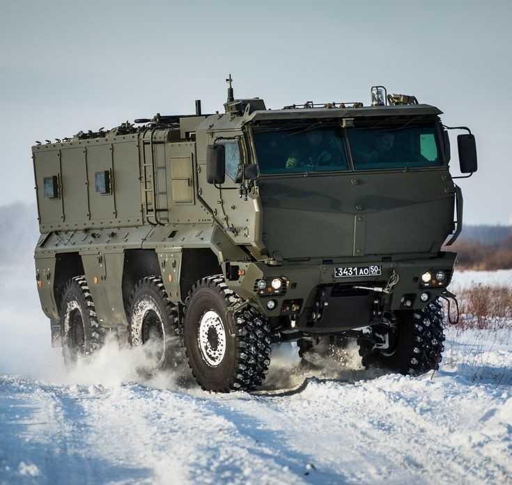 Камаз-63968 тайфун-к скорость, броня, двигатель, вес, размеры, вооружение