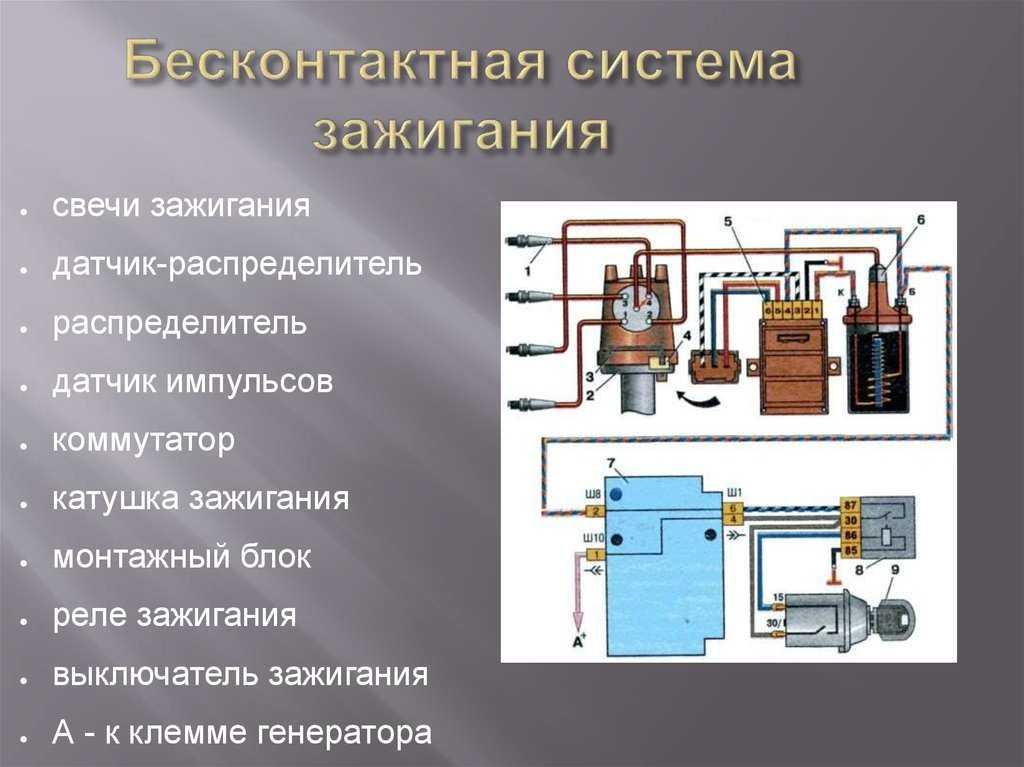Ремонт электронных коммутаторов зажигания.