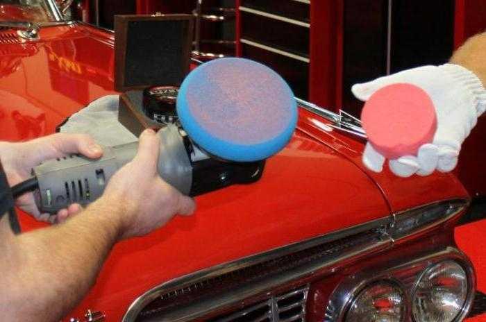 Ремонт сколов на кузове автомобиля своими руками