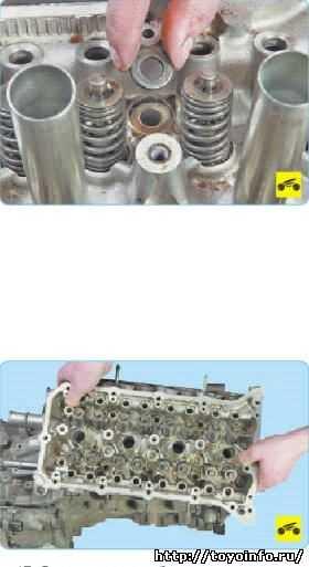 Замена головки блока цилиндров двигателя в москве