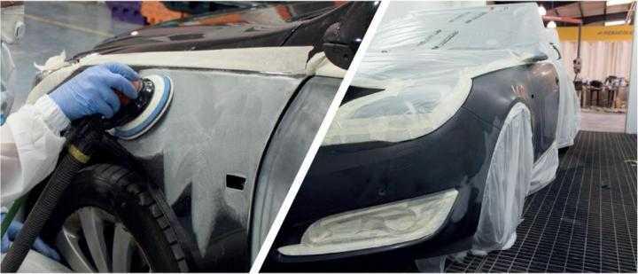 Ремонт царапин, сколов и вмятин на кузове автомобиля своими руками