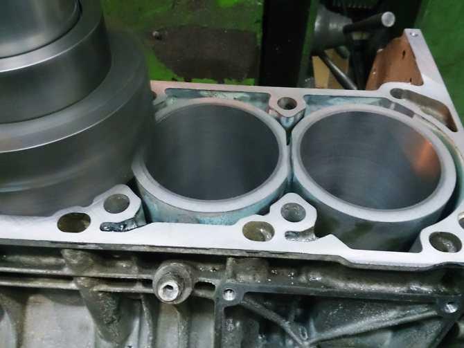Что такое гильзовка двигателя и как она делается
