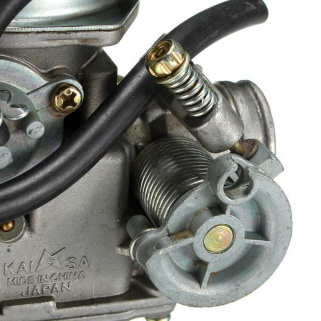 Как настроить карбюратор на двигателе 139qmb